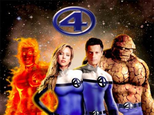 The Superhero Team Fantastic Four