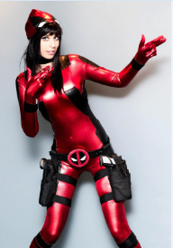 Deadpool 2 Red and Black Zentai