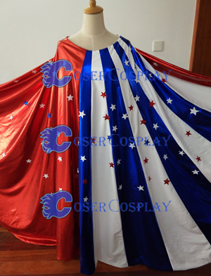 Lynda Carter Wonder Woman Cosplay Cape Superheroine