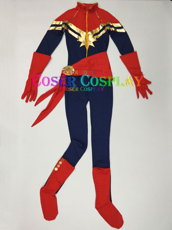 2020 Captain Marvel Carol Danvers Sexy Halloween Costumes For Women