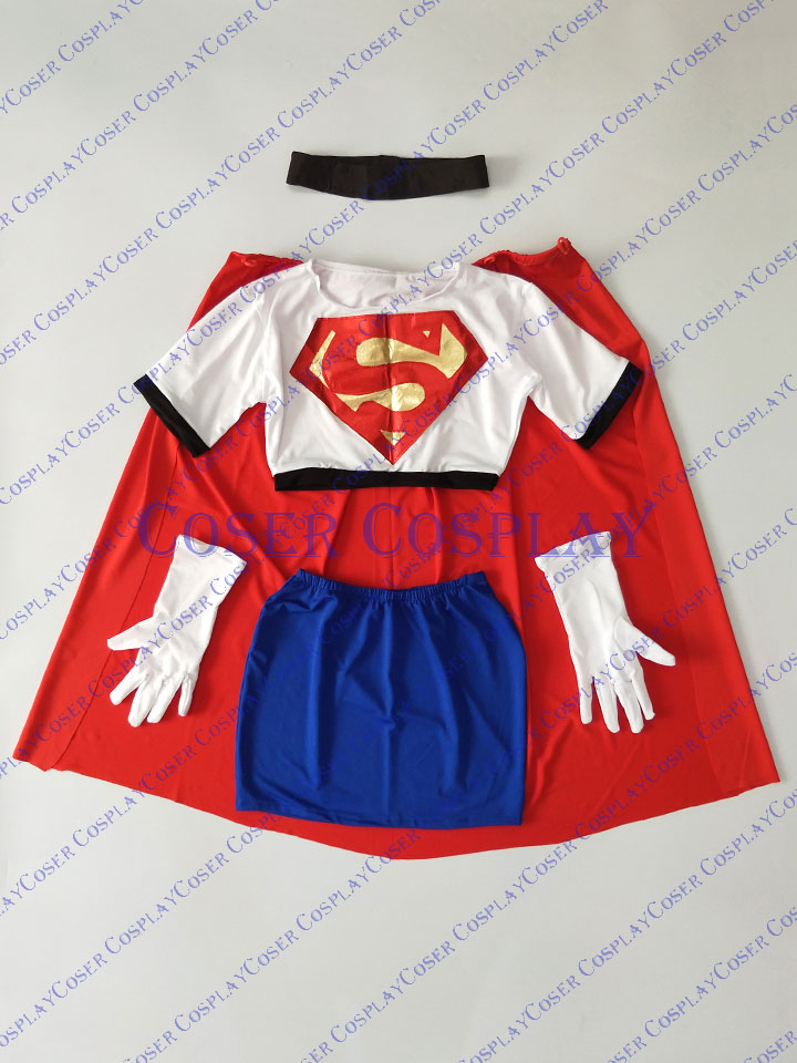 2019 Linda Danvers Supergirl Sexy Halloween Costumes For Women 0730