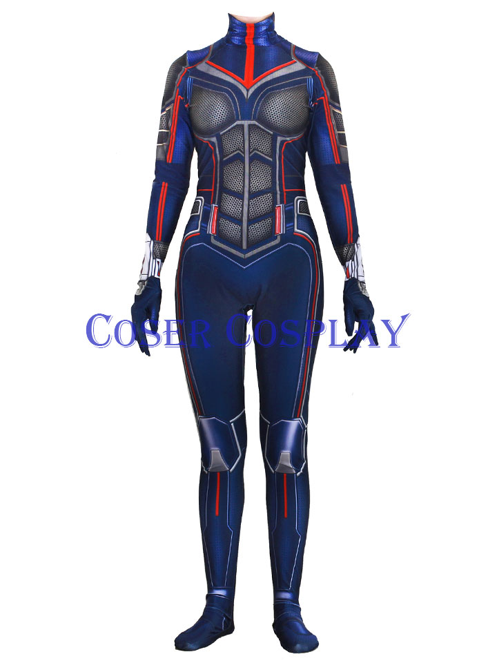 Ant Man and the Wasp Body Suit For Halloween 1122