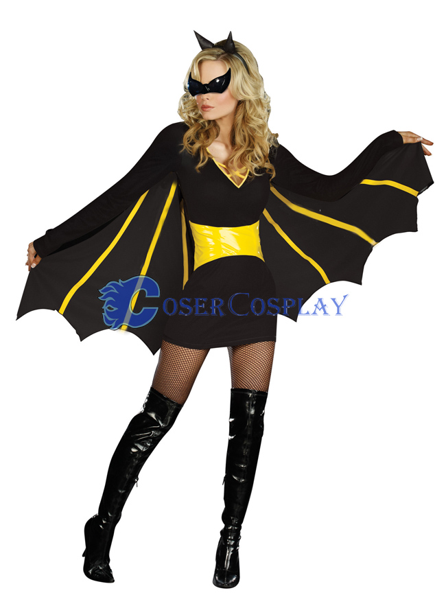 Batman Halloween Costume For Women