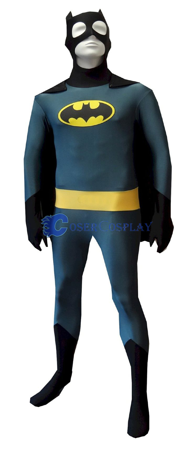 Batman Halloween Costume Open Eyes
