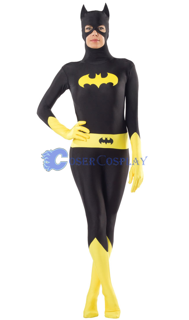 Batman Zentai Halloween Costumes Girl