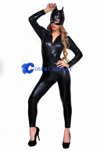 Wetlook Catsuit For Halloween Sexy