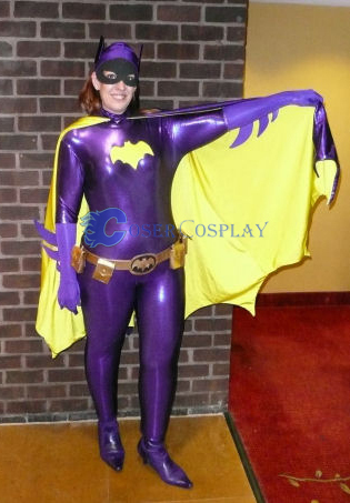 Batman Cosplay Costume Purple