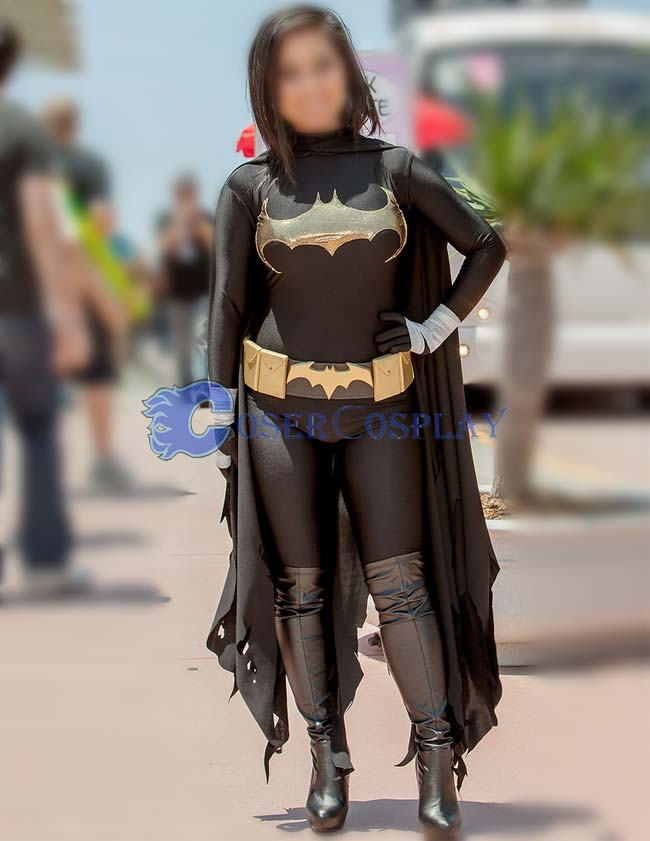 Batman Cosplay Costume Black