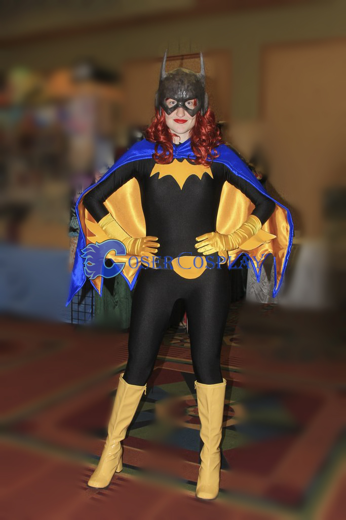 Batgirl Cosplay Costume Halloween