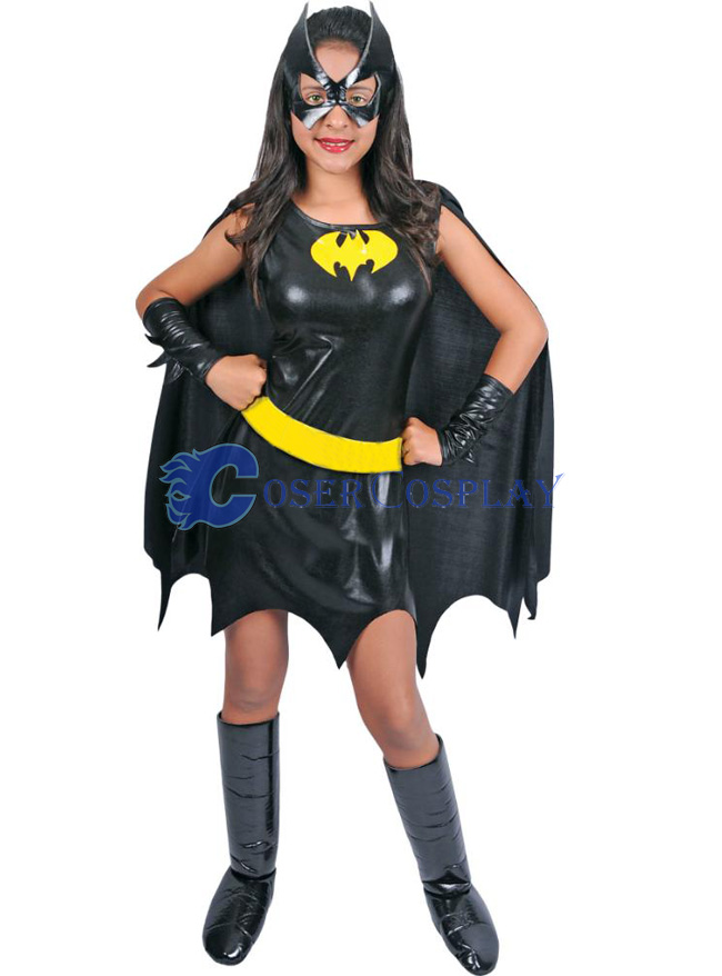 Batgirl Costume Halloween Dress