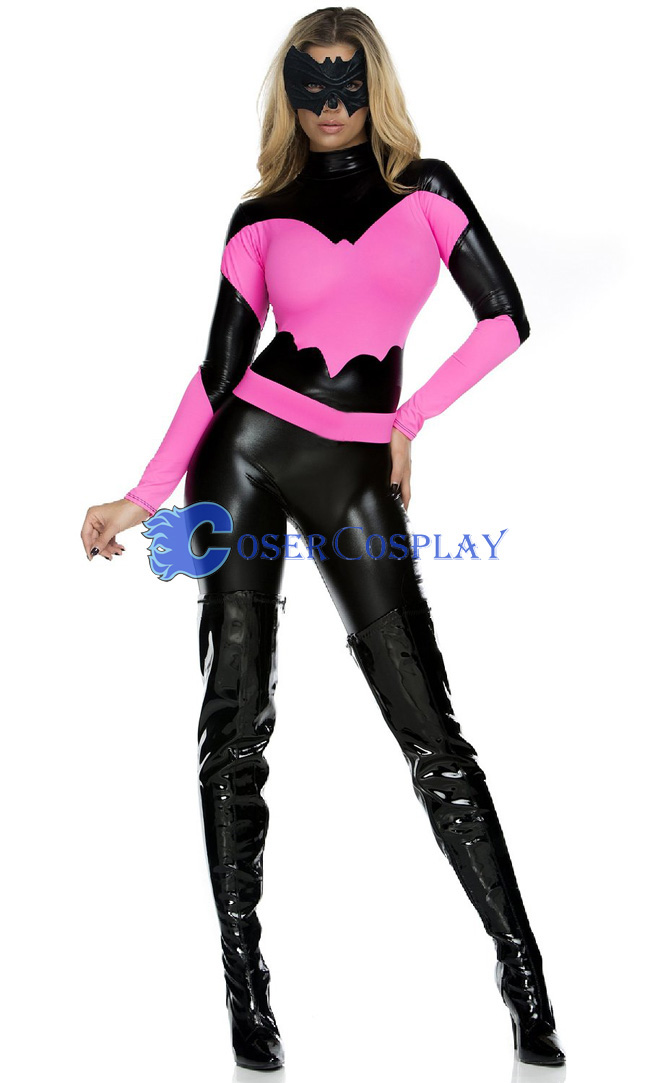 Sexy Halloween Costumes For Women Pink Bat Girl