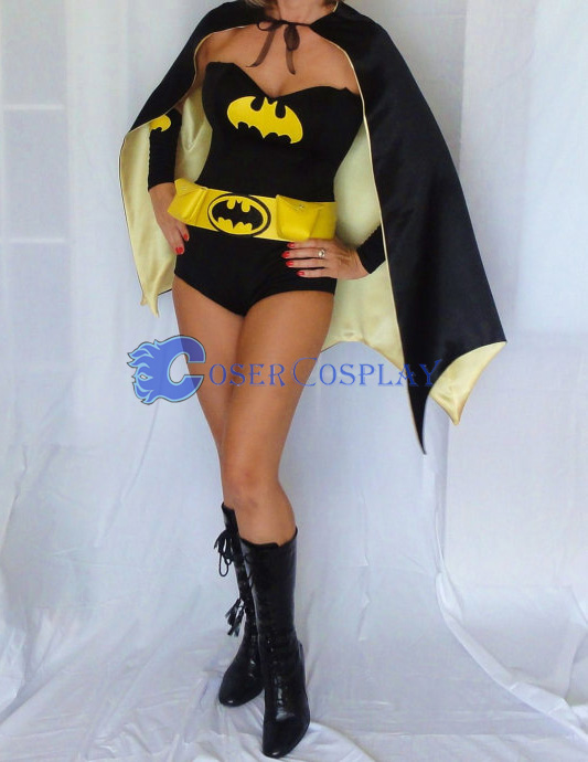 Batman Costume Batgirl Halloween Suit