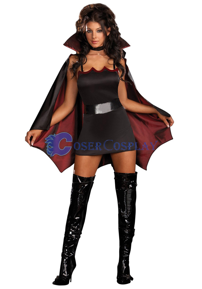 Vampire Cosplay Costume For Halloween Female