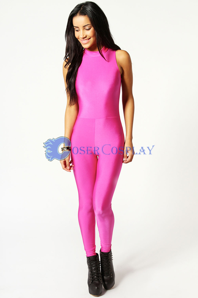Pink Gym Suit Tights Unitard