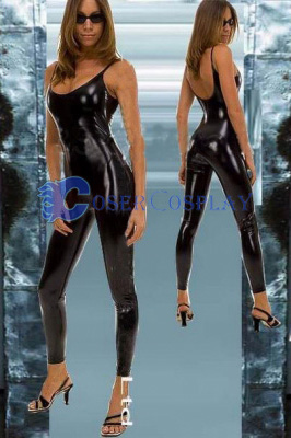 Sexy Wetlook Tights Unitard