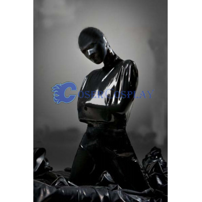 Full Body Pvc Zentai Without Legs Costume