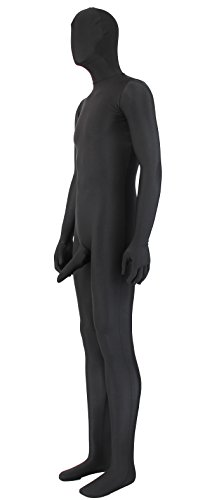 Black Full Body Zentai With Penis