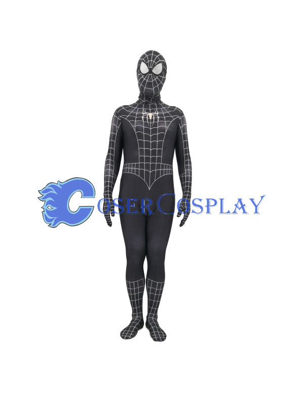 2018 Amazing Spider Man Cosplay Costume Zentai Black