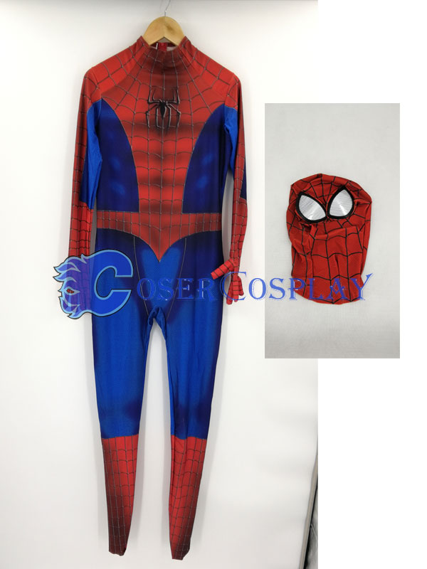 2018 Amazing Spider Man Cosplay Costume Zentai Red