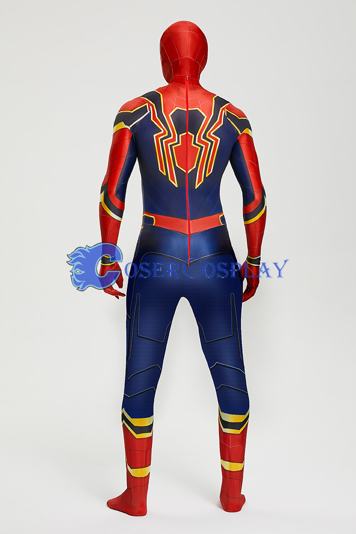 2018 Amazing Spiderman Iron Superhero Cosplay Costumes