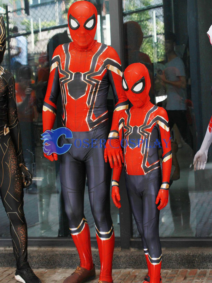 2018 Amazing Spiderman Kids Halloween Costumes