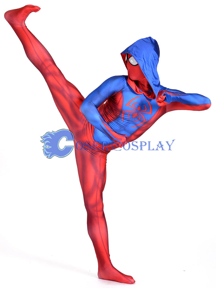 2018 Ben Reilly Spiderman Cosplay Costume