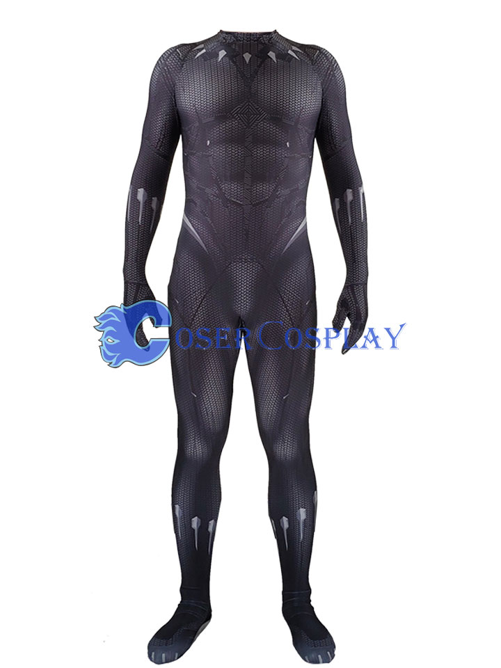 2018 Black Panther Sexy Catsuit For Men Halloween