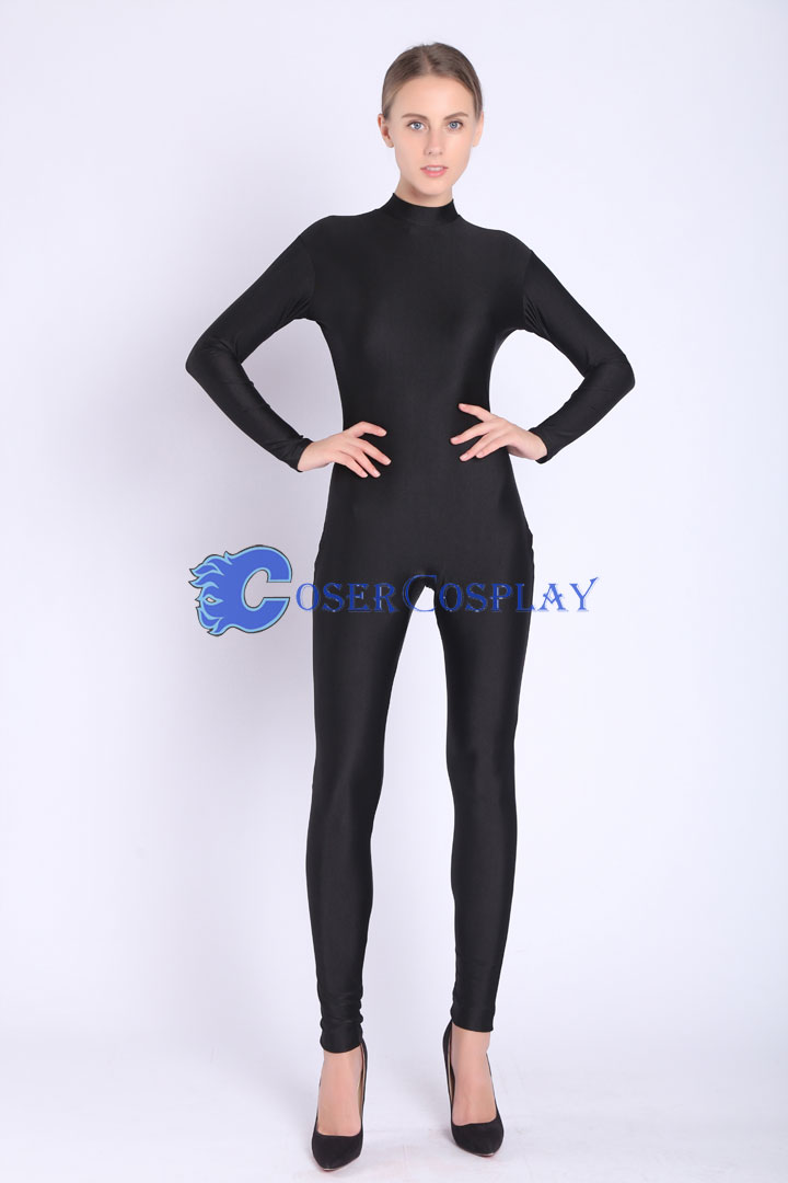2018 Black Unitard Catsuits Wholesale