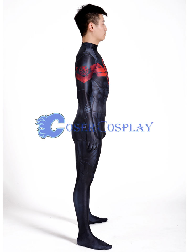 2018 Captain America Hail Hydra Sexy Catsuit