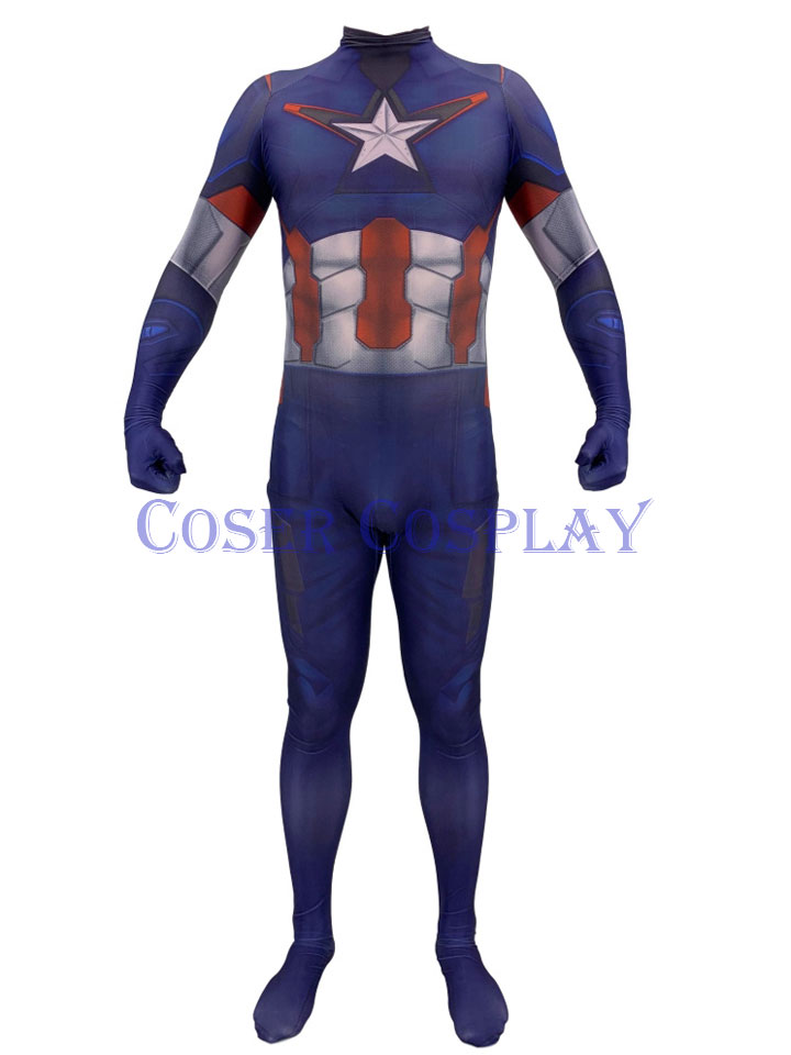 2018 Captain America Kids Halloween Costumes 0906