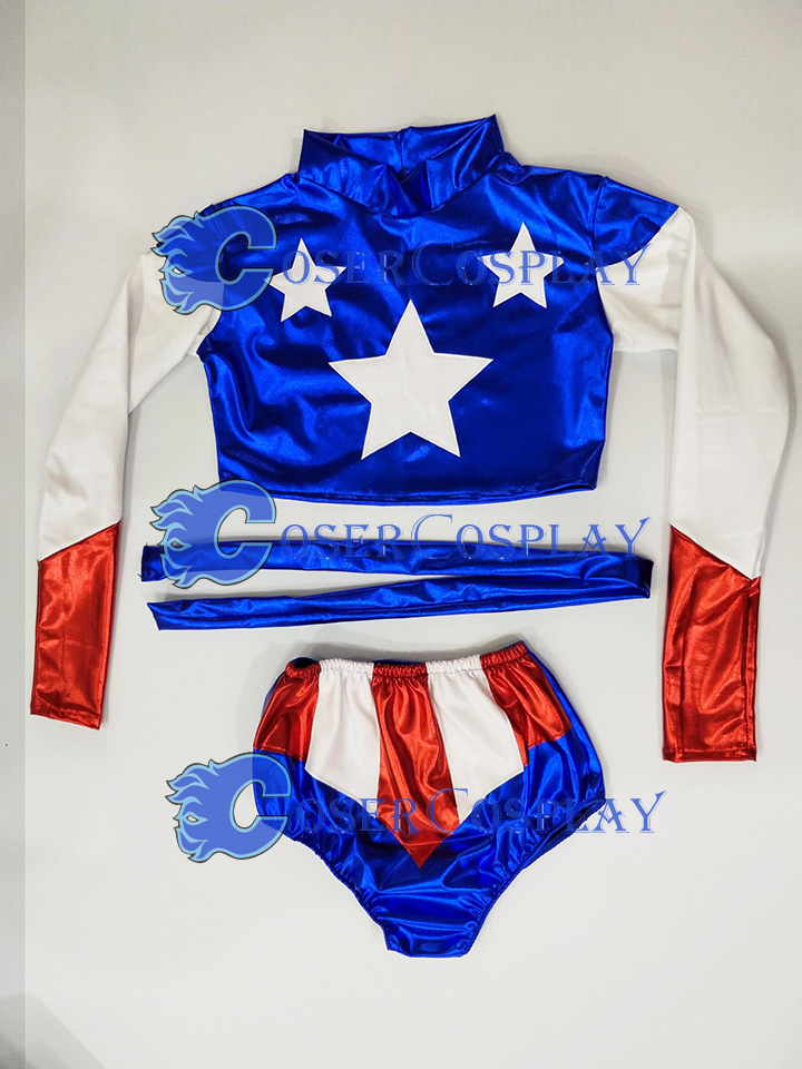 2018 Captain America Sexy Halloween Costumes For Women