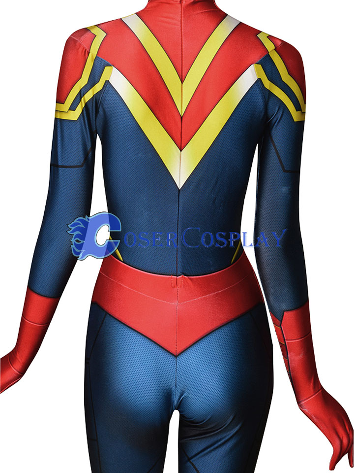 2018 Captain Marvel Carol Danvers Classic Cosplay Costume