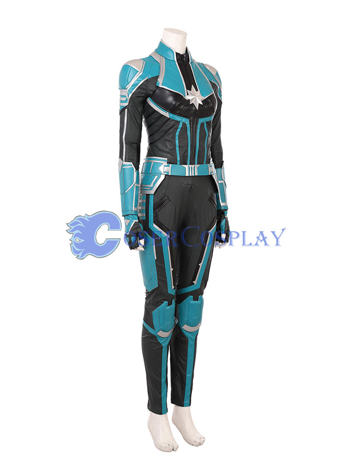 2018 Captain Marvel Carol Danvers Cosplay Costume Quality