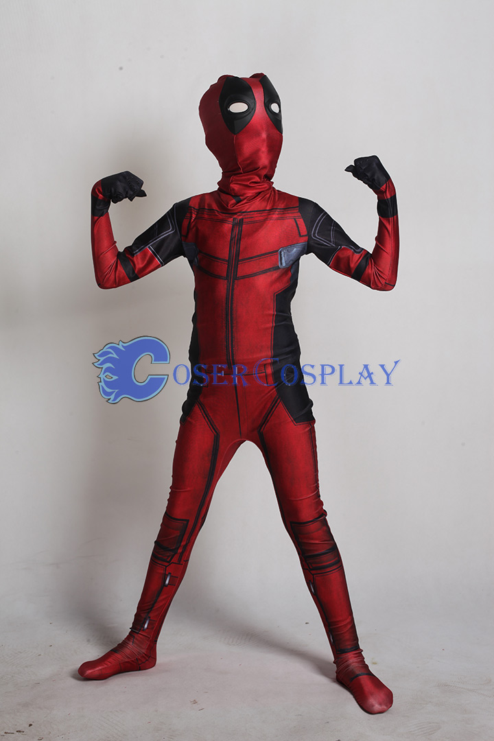 2018 Deadpool 2 Kids Halloween Costumes