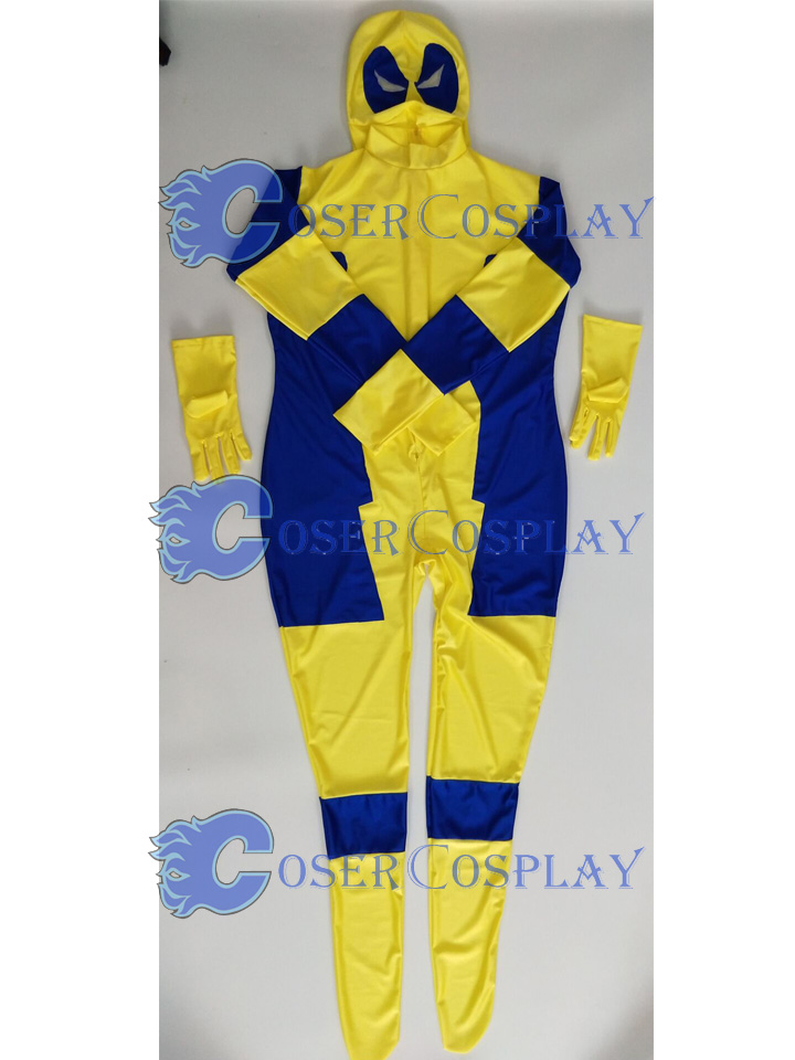 2018 Deadpool Cosplay Costume Halloween Zentai