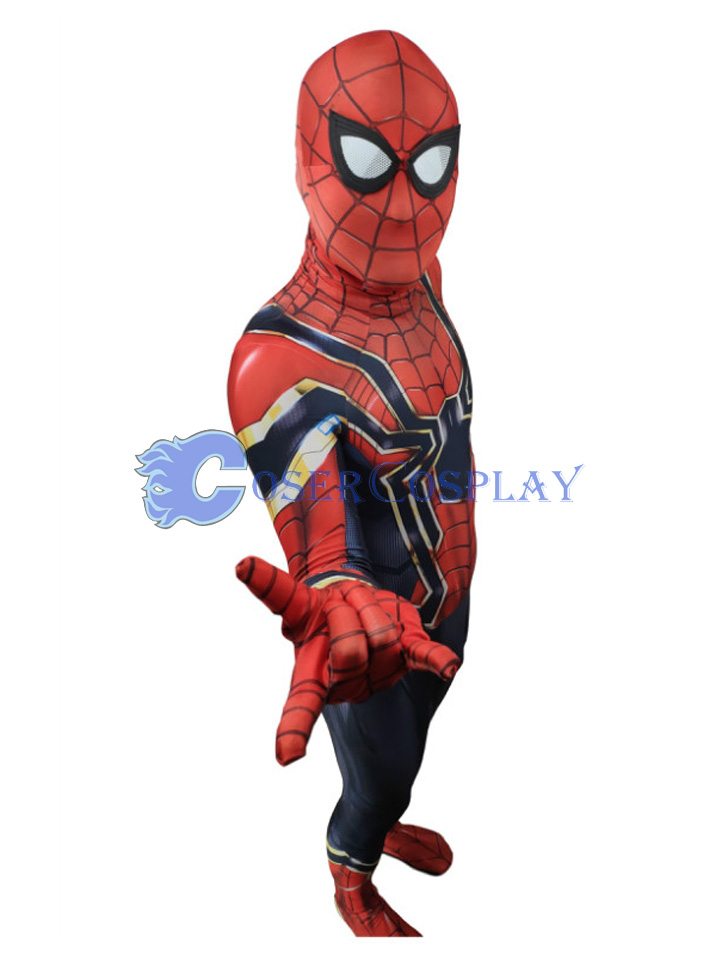 2018 Discount Wholesale Iron Spiderman Cosplay Costume