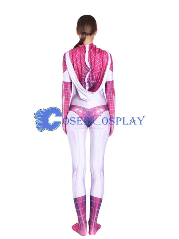 2018 Gwen Stacy Spider Girl Cosplay Costume Sexy Halloween