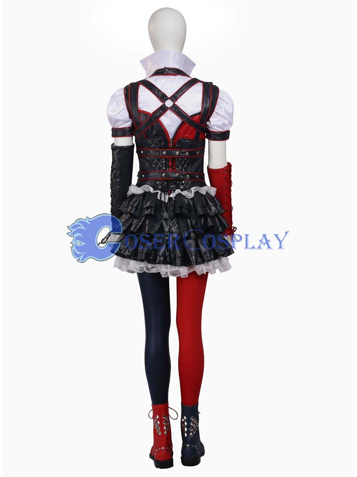 2018 Harley Quinn Batman Arkham Knight Cosplay Costume