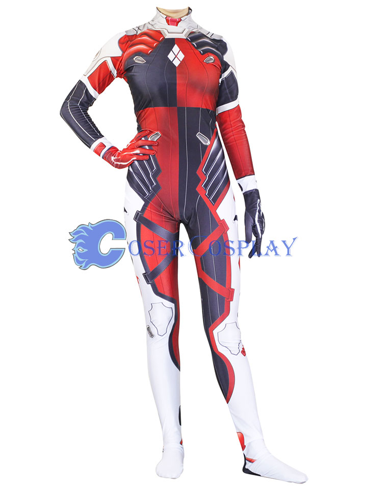 2018 Harley Quinn Cat Suit Sexy Halloween Costumes