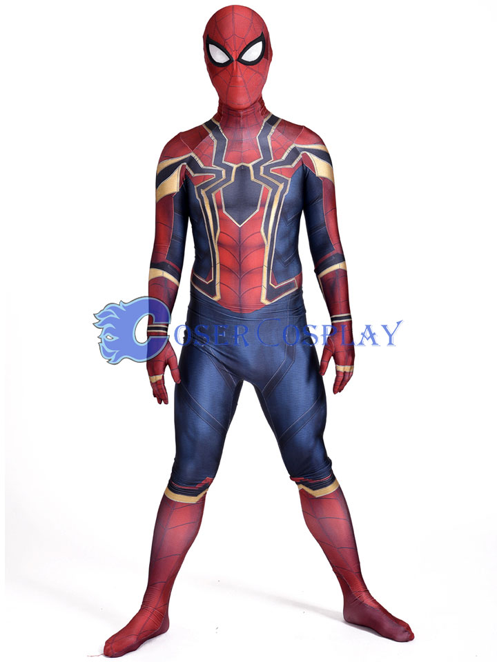 2018 Homecoming Iron Spiderman Zentai