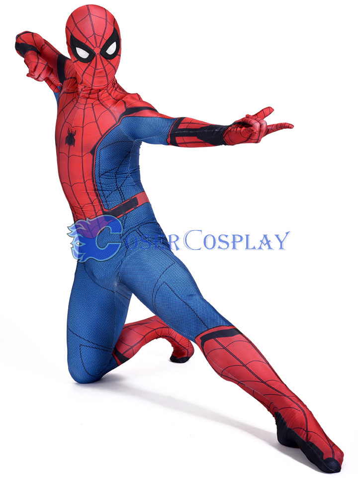 2018 Homecoming Spiderman Full Bodysuit