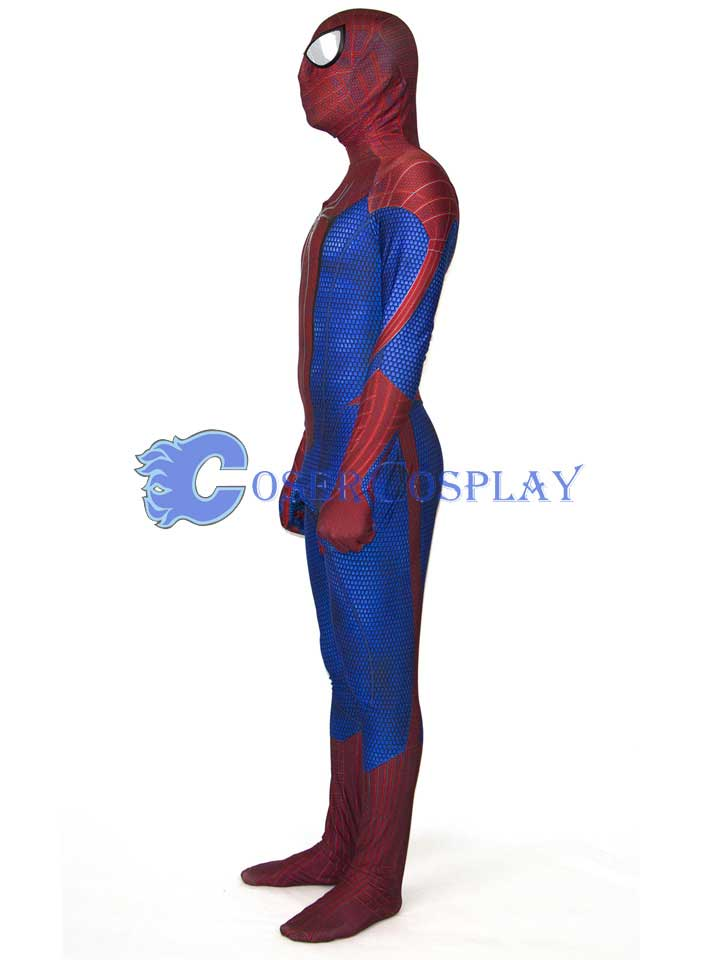 2018 Homecoming Spiderman Zentai Costume Halloween LA18070216