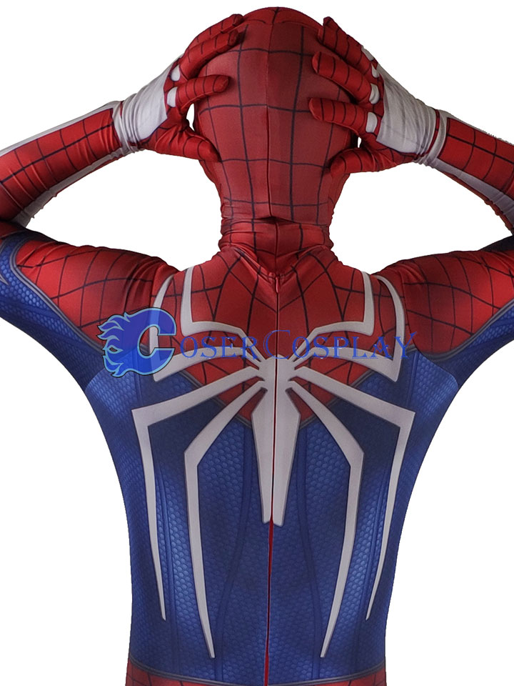 2018 Insomniac Games PS4 Spiderman Halloween Costume