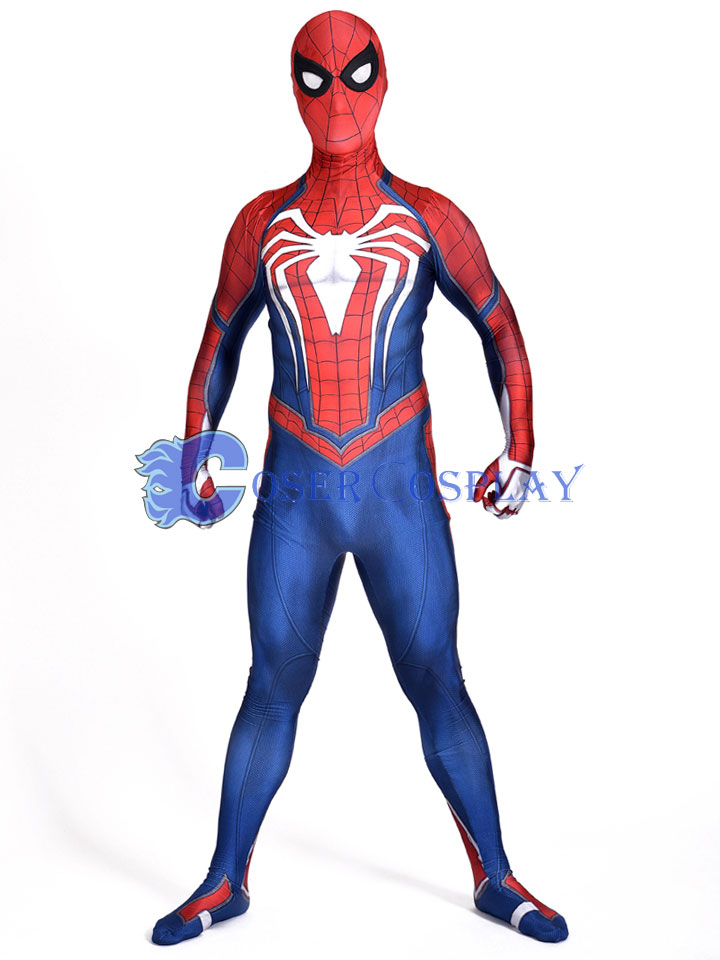 2018 Insomniac Games PS4 Spiderman Zentai Costume
