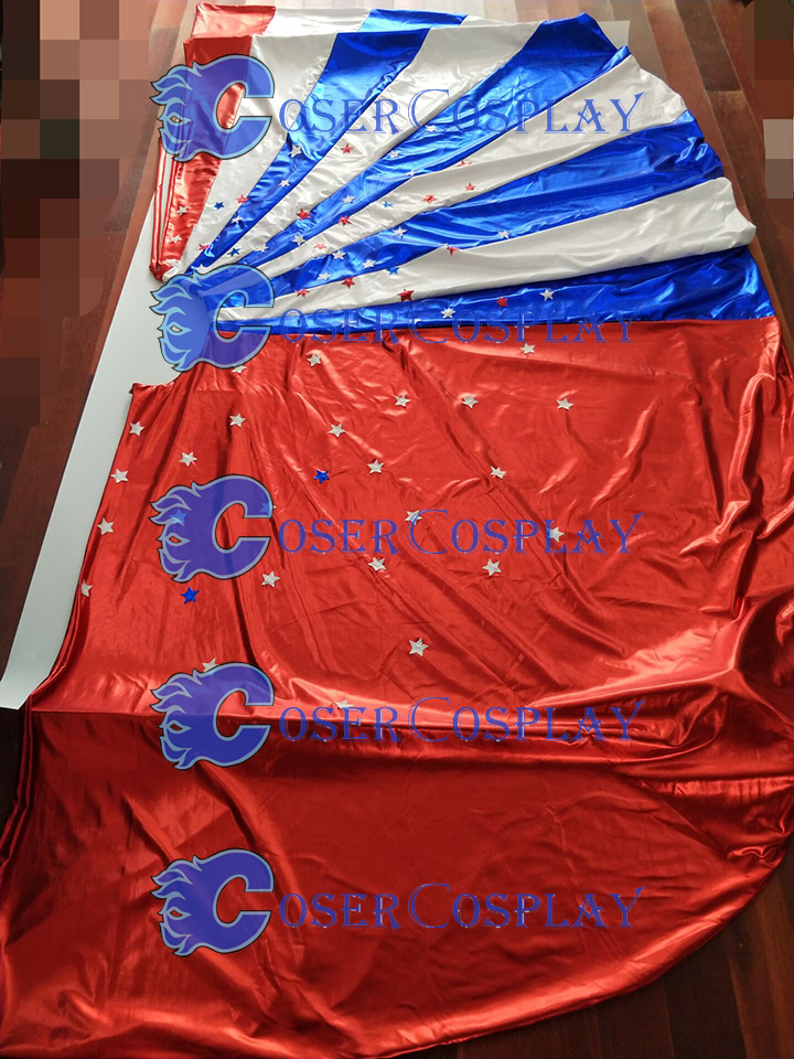 2018 Lynda Carter Wonder Woman Cosplay Cape Superheroine