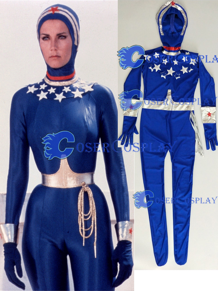 2018 Lynda Carter Wonder Woman Cosplay Costume