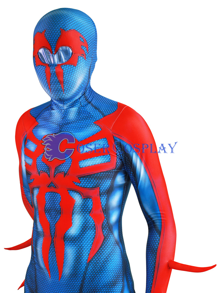 2018 Miguel O Hara Spider Man 2099 Cosplay Costume