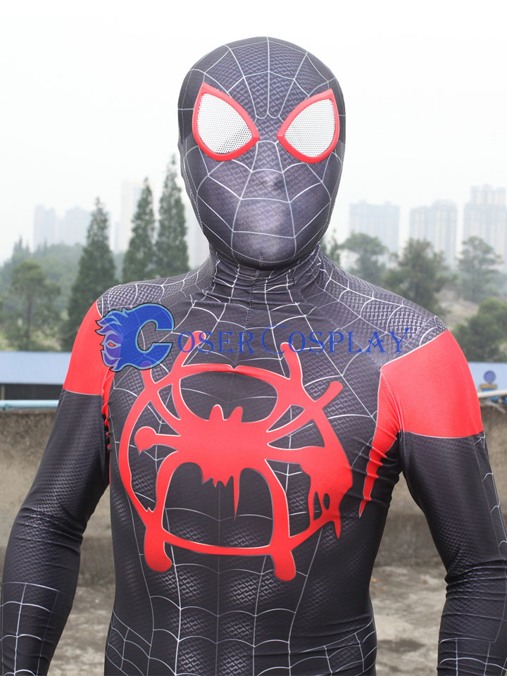 2018 Miles Morales SpiderMan Halloween Costume