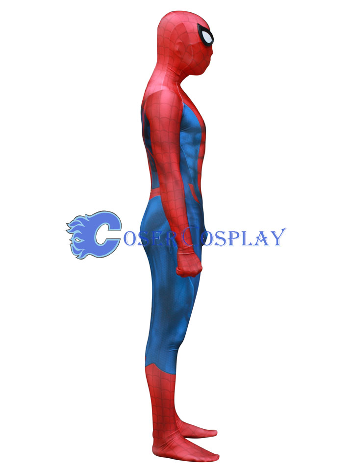 2018 New Design Spiderman Zentai Cosplay Costume