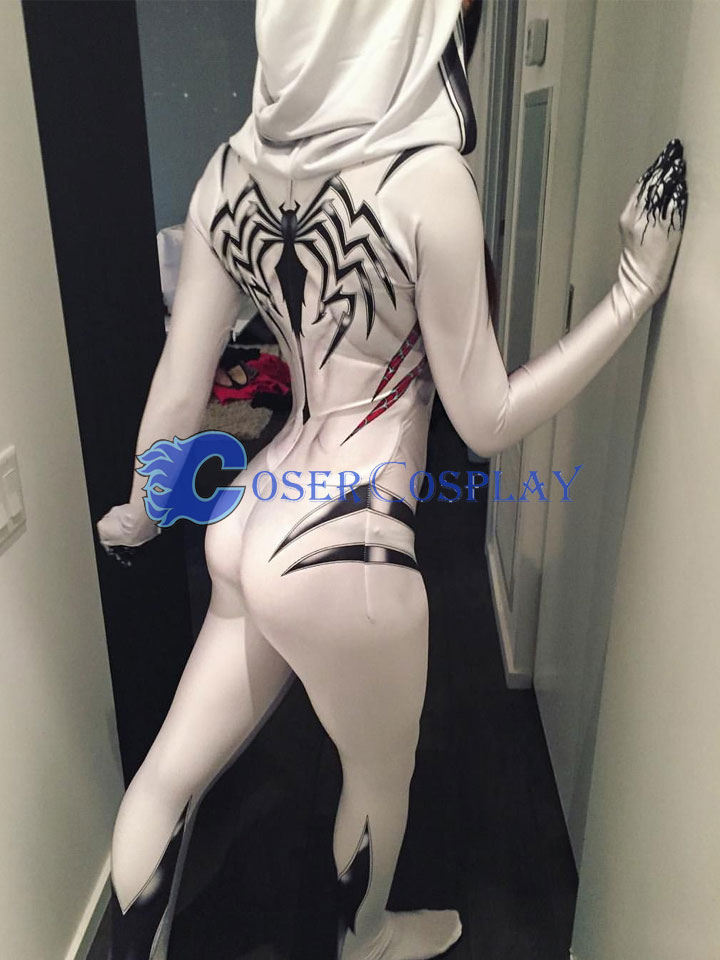 2018 New Venom Gwen Stacy Cosplay Costume Sexy Halloween